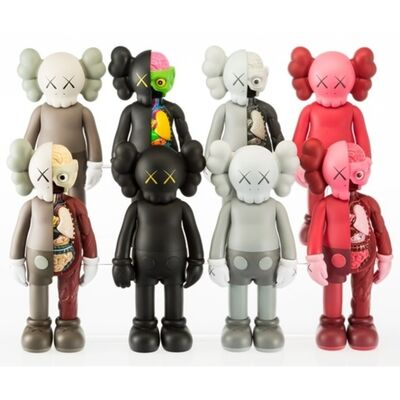 KAWS, 'Kaws Companion (Open Edition) - Set of 8', 2016