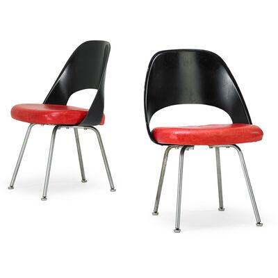 Eero Saarinen, 'Pair of Chairs, New York', 1960s