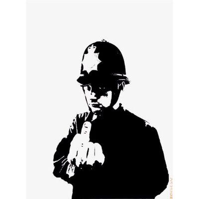 Banksy, 'Rude Copper - Unsigned', 2002