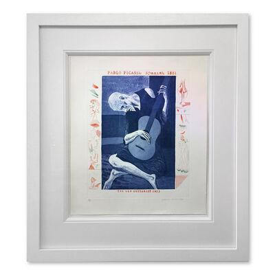 David Hockney, 'The Old Guitarist', 1976