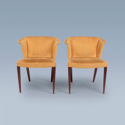 Nanna Ditzel, 'Very rare pair of chairs', ca. 1955