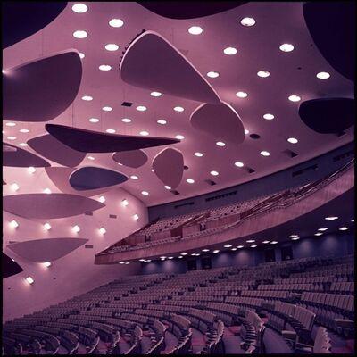 Alessandro Balteo-Yazbeck, 'Architect Carlos Villanueva in Collaboration with Alexander Calder, Aula Magna Auditorium, Ciudad Universitaria de Caracas, 1954, From the series Modern Entanglements, U.S. Interventions, 2006-2009', 1963