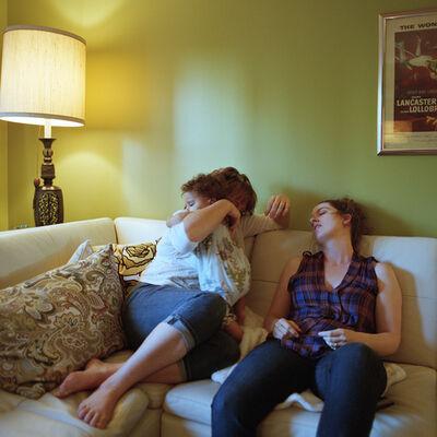 Anna Ogier-Bloomer, 'Getting sick at home, Cincinnati', 2014