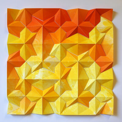 Matt Shlian, 'Ara 244: The Other Ishihara Test-Sherbert', 2016
