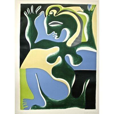 Fritz Baumgartner, 'Woman', ca. 1970