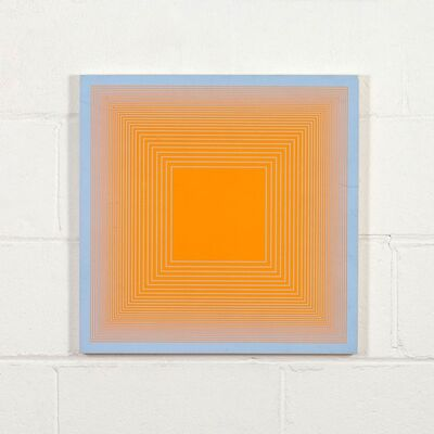 Richard Anuszkiewicz, 'Spectral 9 C Mid Century Modern Op Art', 1969