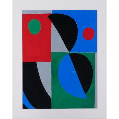 Sonia Delaunay, 'Poésie de mots, poésie de couleurs', 1961