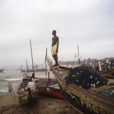 Denis Dailleux, 'Garçon à la plage à James Town, Ghana', 2009