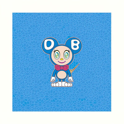 Takashi Murakami, 'DOB 2020 Light BLUE', 2020
