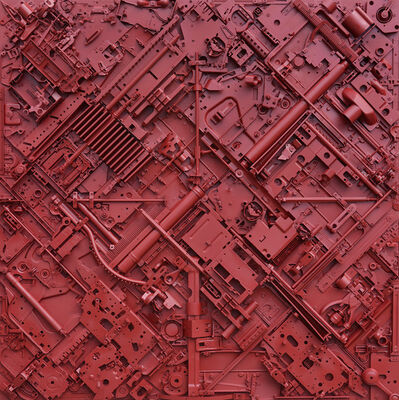 Daniel Motz, 'Untitled Red II'