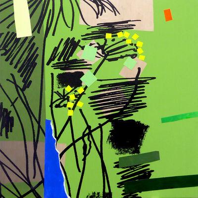 Bruce McLean, 'Future Garden 6', 2020