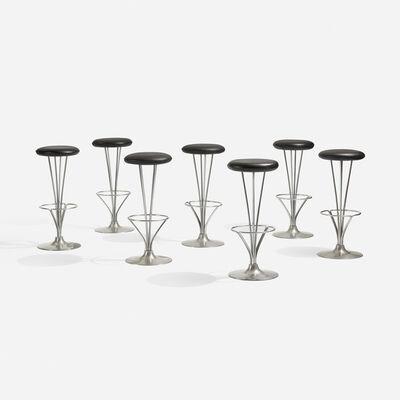Piet Hein, 'stools, set of seven', 1971