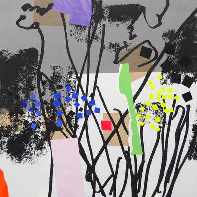 Bruce McLean, 'Future Garden 3', 2020