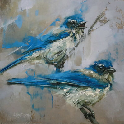Lindsey Kustusch, 'Winter Jays', 2020