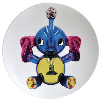 Jeff Koons, 'Elephant Service Plate', 2014