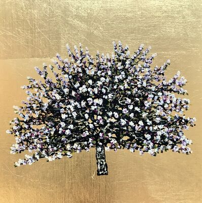 Jack Frame, 'Amber Heart Gold Blossom', 2019