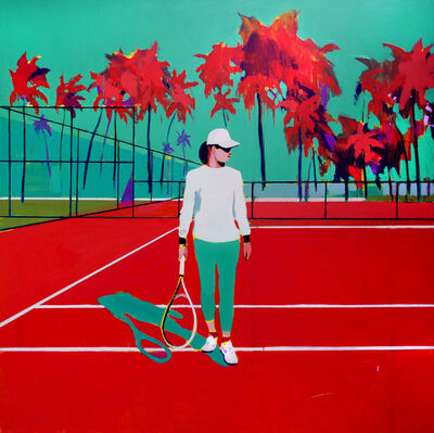 Patrick Puckett, 'Tennis Player', 2019