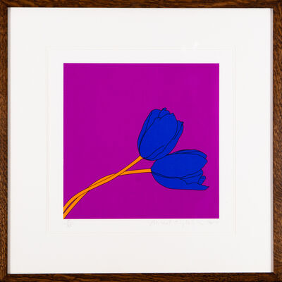 Michael Craig-Martin, 'Tulips (after Mapplethorpe) 2017', 2017
