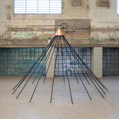 Cristiano Lenhardt, 'Escultura Íris', 2019