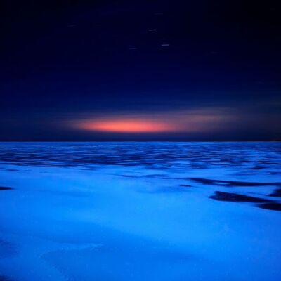 Lucinda Devlin, 'Lake Huron, 8:08pm, 3.14.2011'