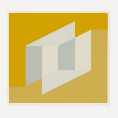 Josef Albers, 'Never Before F (from the Never Before portfolio)', 1975