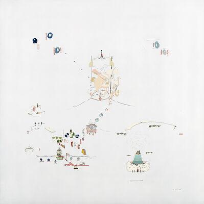 Gianfranco Baruchello, 'Md par l'oui dire 3: soggettività espropriata', 1973