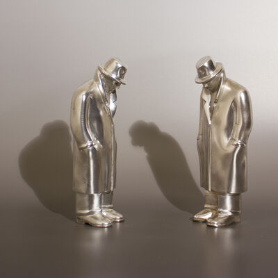 Siegfried Neuenhausen, 'Two Equals - Silver'