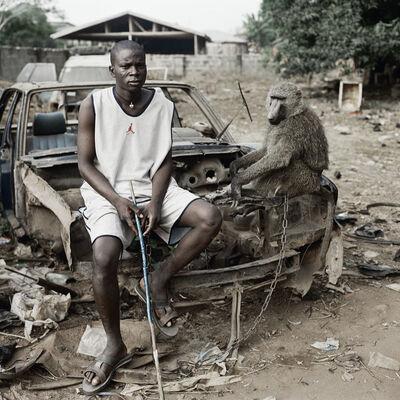 Pieter Hugo, 'Umoru Murtala with School Boy, Asaba, Nigeria', 2007