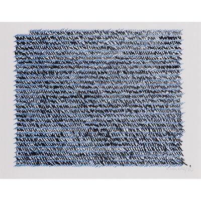 Vera Molnar, 'Lettre à ma mère', 1990