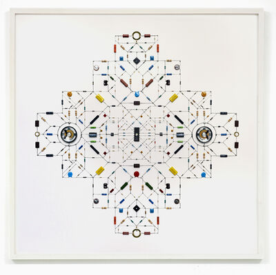 Leonardo Ulian, ' technological mandala #83', 2016