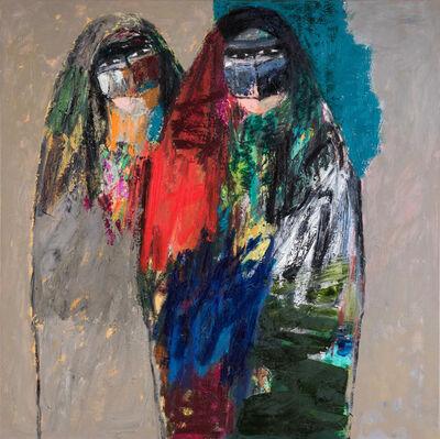 Omar Al Rashid, 'Two Women in cover', 2016