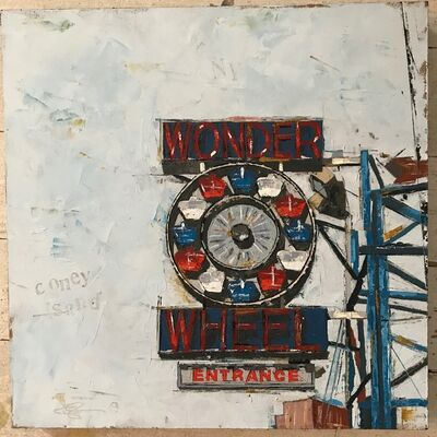 "Emily Thompson, '""Wonder Wheel, Coney Island""', 2018"