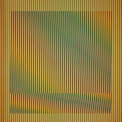 Carlos Cruz-Diez, 'Induction Chromatique a double fréquence Série Orinoco 5', 2018