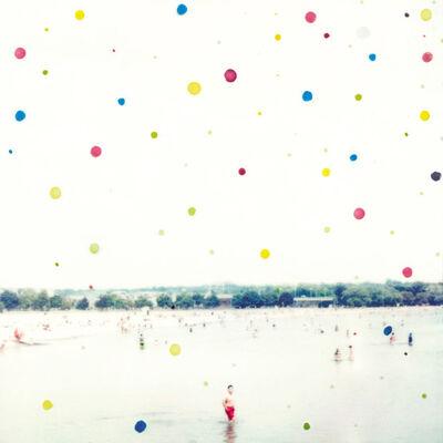 Joshua Jensen-Nagle, 'Red Bather with Polka Dots'
