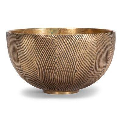 Axel Salto, 'Bronze bowl', ca. 1950's