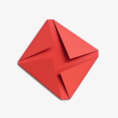 Sébastien de Ganay, 'Red Folded Flat 02', 2015