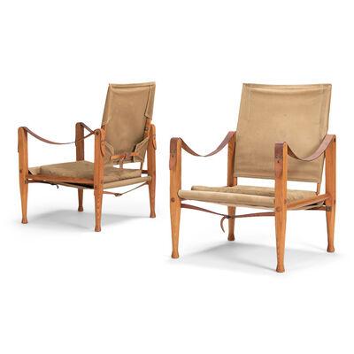 Kaare Klint, 'A pair of Safari chairs', 1933