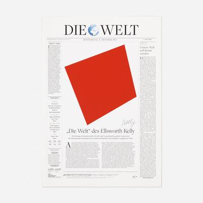 Ellsworth Kelly, 'Die Welt', 2011