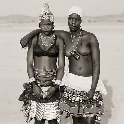 Dana Gluckstein, 'Ovazemba Teenage Girls, Namibia', 2007