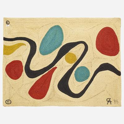 After Alexander Calder, 'Turquoise tapestry', 1975