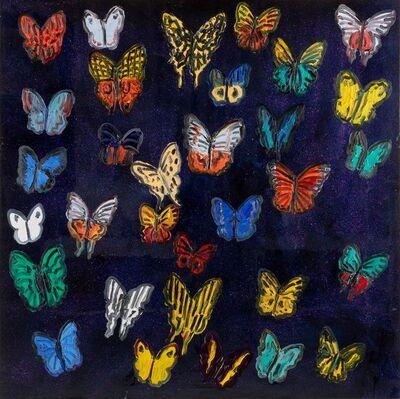 Hunt Slonem, 'Butterflies', 2019