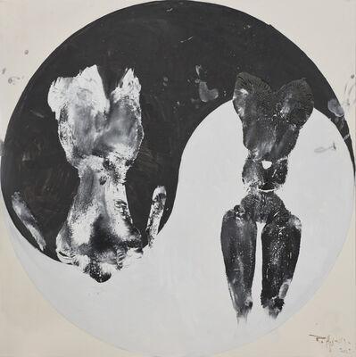 Huang Rui, 'Black and White Cats No.4', 2015