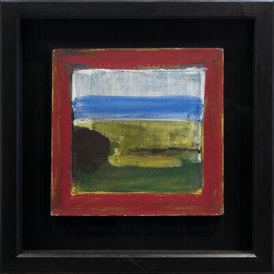 Christopher Benson, 'Landscape Through a Red Frame', 2018