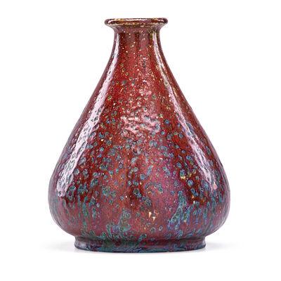 Pierre Adrien Dalpayrat, 'Bulbous Oxblood Vase, France', ca. 1900