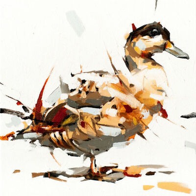 Thibault Jandot, 'Duck', 2015
