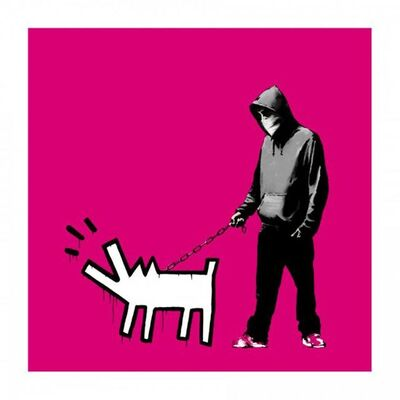 Banksy, 'Choose Your Weapon (Magenta) - Signed ', 2010