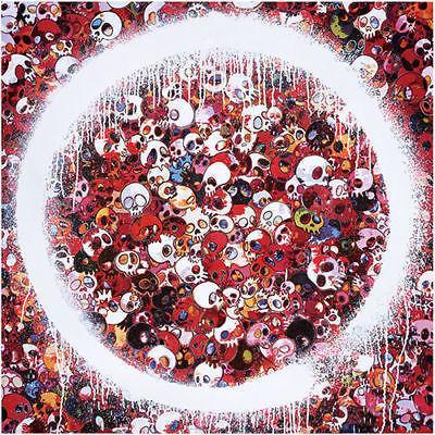 Takashi Murakami, 'Takashi Murakami Enso: Memento Mori Red', 2018