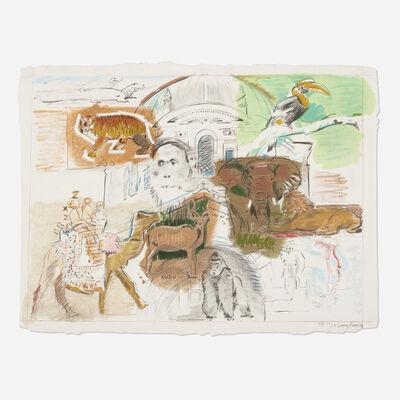 Larry Rivers, 'Bronx Zoo', 1983
