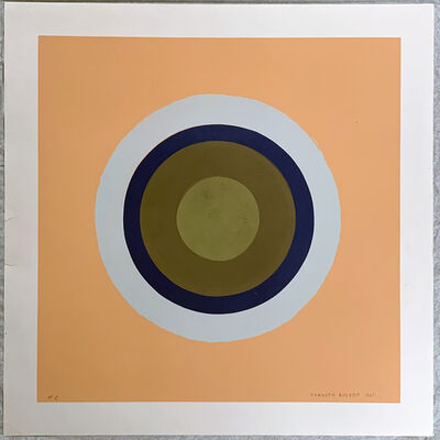 Kenneth Noland, 'Untitled', 1961