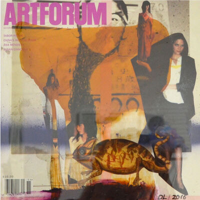 David Lloyd, 'Altered Artforum #11', 2016